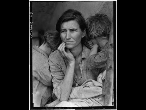 Story of Migrant Mother Photograph by Dorothea Lange - American Artifacts