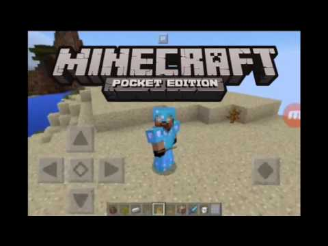 How to put a letter on our phone screen minecraft pe