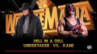 WWE 2K15 Kane 02 Vs Undertaker 91 Hell in a cell (HIAC)