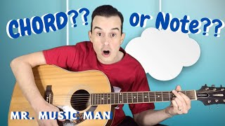 Chord vs. Note | Preschool Music Class At Home