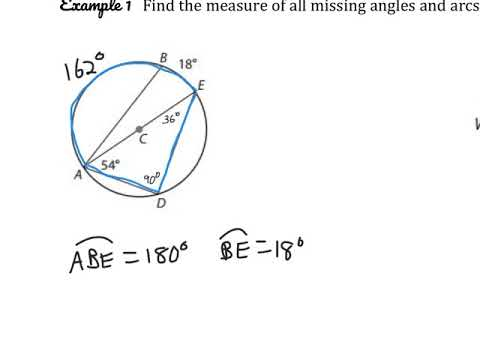 Central Angles and Inscribed Angles - YouTube