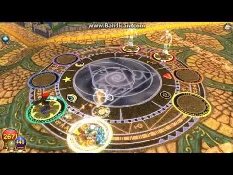 Wizard 101 Kirin's Hoard Pack Ringed Broadsword