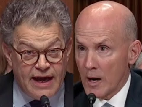 """ANSWER THE QUESTION!!!"" Al Franken GETS PISSED OFF & DESTROYS Equifax Ex-CEO"