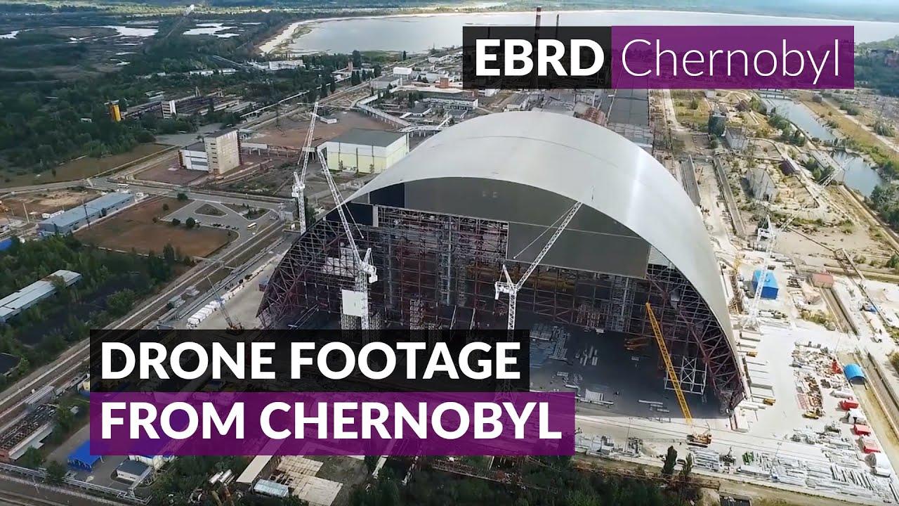 el sarc�fago que se construye para Chern�bil