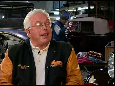 Alan Taylor restores world's finest cars