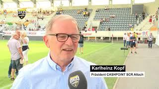 SCRA TV 2018 - Eröffnung Fohrenburger Fantribüne
