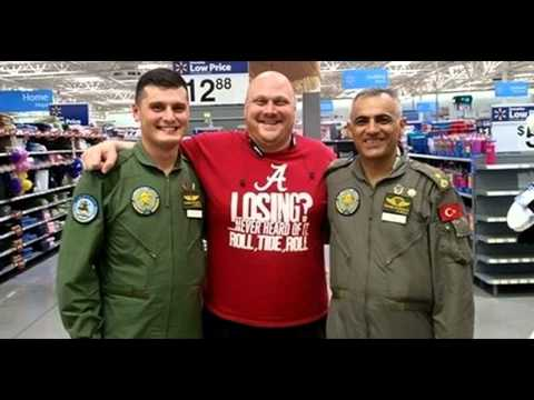 JADE HELM 15  MRAPs On California Highway, Turkish Airforce Pilots at Texas Walmart, By DAHBOO777