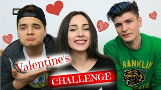 VALENTINE'S CHALLENGE cu SELLY si VASCO!!!