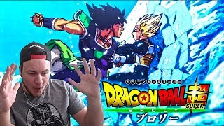 RÉACTION TRAILER DU FILM DRAGON BALL SUPER BROLY ! INCROYABLE !!