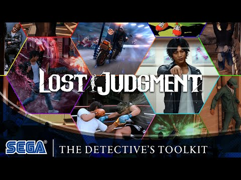 Lost Judgment   The Detective's Toolkit (ES)