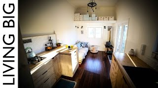 Antje's spectacular tiny house on wheels is modern, spacious and filled with character and charm. Made from SIPs (structurally insulated panels) and off-the-grid ...