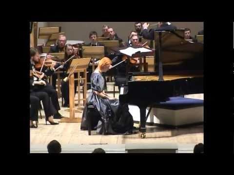 Violetta Egorova plays Grieg. Concerto in A Minor, op.16 (part 2)