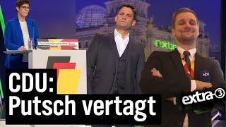 CDU-Parteitag: Eine schrecklich nette Familie