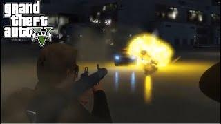 16+ | Как гении криминального мира управляют транспортом в GTA: Online - [НАРЕЗКА]