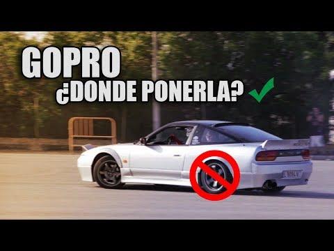 DONDE PONGO LA GOPRO CUANDO HAGO DRIFT | NACHO DRIFT