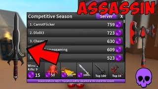 MODE COMPÉTITIF EST REVENU! (Roblox Assassin)