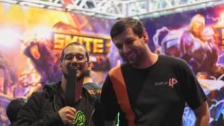 XMA - Smite Level Up! - 1º dia - Entrevista com Forsetes!