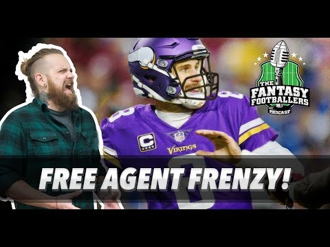 Fantasy Football 2018 - Free Agent Frenzy! - Ep. #531
