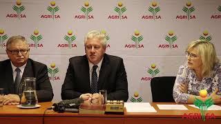 Agri SA Media Conference 5 December 2018 on EWC