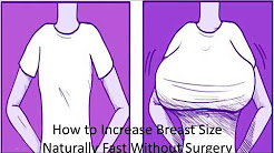 7 Ways to Increase Breast Size Naturally Fast Without Surgery