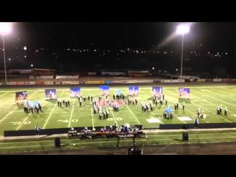 Sky View High School Marching Band - Red Rocks - 2014