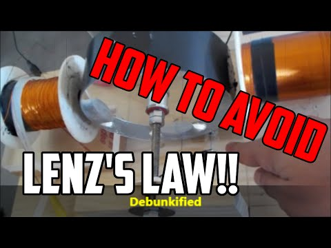 GLIMPSE of FREE ENERGY OVERUNITY BYPASSING LENZ'S LAW