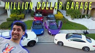 MILLION DOLLAR GARAGE TOUR  |  Gabriel Rodriguez