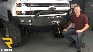 How to Install Road Armor Stealth Prerunner Front Bumper on a 2015+ Chevy Silverado 2500