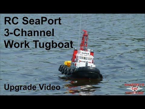 RC Seaport Tugboat Upgrades Plus FARM Float Fly BONUS!