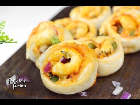 নতুন নাস্তার Idea - অল্প সময় টিফিনের রেসিপি -  পিৎজা রোল - Pizza Pinwheels Bangla-Tasty Nasta Recipe