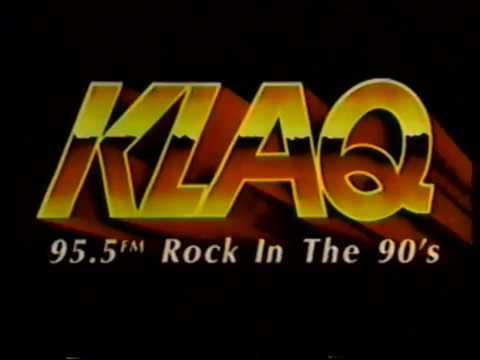 1991 KLAQ Radio Station El Paso TV Commercial