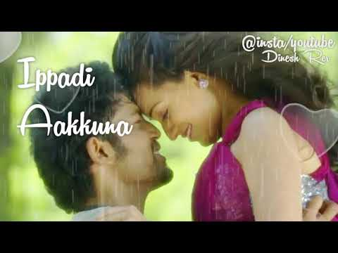 Yenadi Nee Enna Ippadi Aakkuna Song With Lyrics ..Whatsapp Status video ..Love Linez