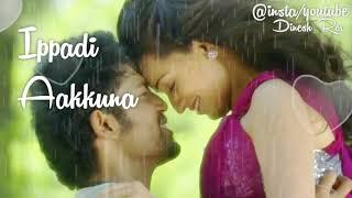 Yenadi Nee Enna Ippadi Aakkuna Song With Lyrics ..Whatsapp Status video ..Love Linez