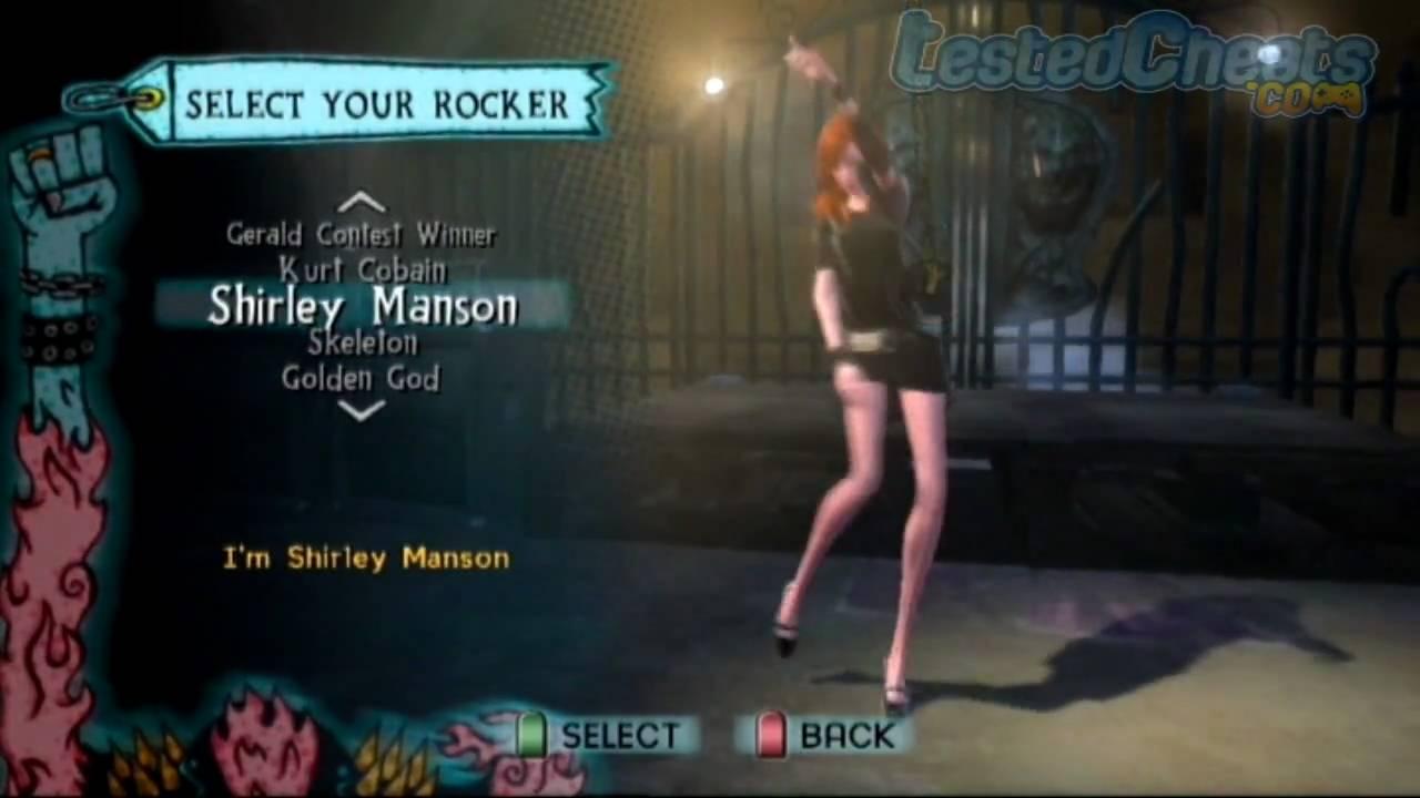 Guitar Hero 5 Cheats All Characters All Hopos Performance