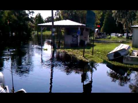 Isaac flooding neibert 39 s fish camp lorida florida for Fish creek florida