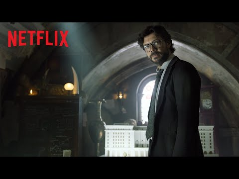 La casa de papel: Parte 4   Tráiler oficial   Netflix