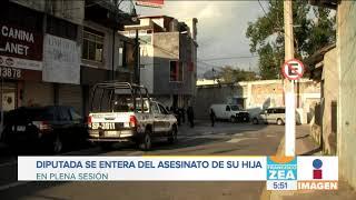 Video Diputada de Morena se entera del asesinato de su hija en plena sesión | Noticias con Francisco Zea download MP3, 3GP, MP4, WEBM, AVI, FLV November 2018