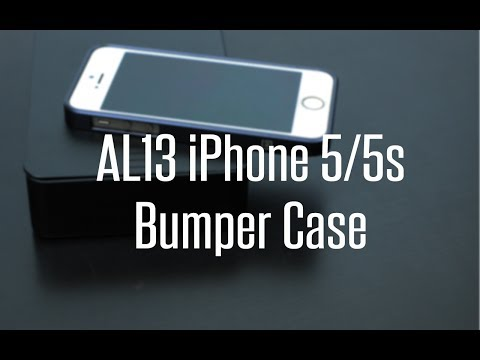 AL13 iPhone 5/5s  Bumper Case