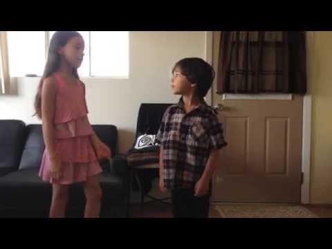 Clothes Swap Siblings