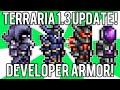 Terraria 1.3: How to get Developer Armor, Wings, & Dye! (Terraria 1.3 Update Change) @demizegg