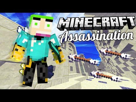 Minecraft ' Assassination ' STOP NOU MET HACKEN!!!