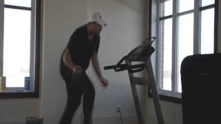Uptown Funk Treadmill Dance - Cousin Vinny