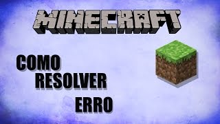 Como resolver o Erro 'Game Output' do minecraft 2017 ( Windows 10 e 7 ) #2