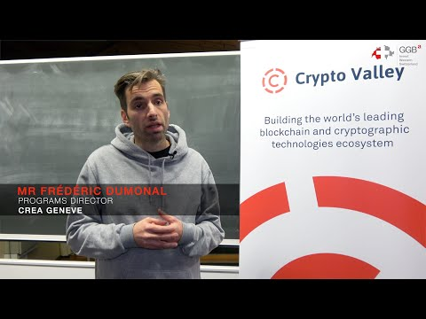 Frédéric Dumonal on CREA Genève's Blockchain Strategy Training Program