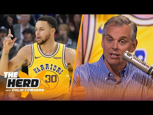 Colin Cowherd makes his first round 2019 NBA playoff predictions | NBA | THE HERD