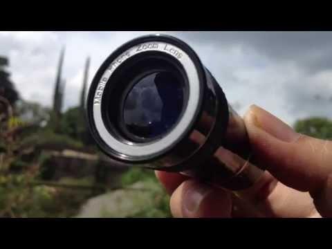 lensa tele 10x zoom untuk handphone