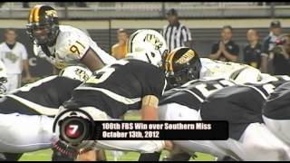 Top 10 Football Bowl Subdivision Wins Feature