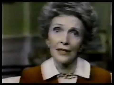 The Reagans Speak on Alcohol and Drugs