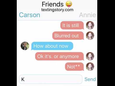 Carson Lueders Texts Annie Leblanc