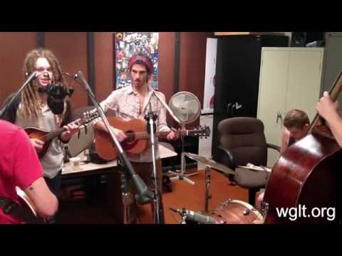 """The Way Down Wanderers Performing """"Sweet Morning Vision"""" On WGLT"""